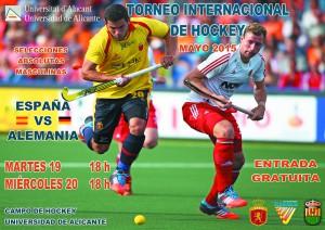 Cartel Torneo Internacional Hockey UA mayo (A3)