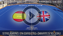 PARTIDO FRIENDLY MATCHES HOCKEY VALENCIA 10th FEBRUARY 2015