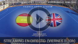 PARTIDO FRIENDLY MATCHES HOCKEY VALENCIA 13th FEBRUARY 2015