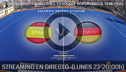 SPAIN - GERMANY (23 FEBRUARY) - Torneo Internacional 4 naciones de Hockey Hierba Valencia
