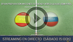 SPAIN PREPARATION MATCHES TO HOCKEY WORLD LEAGUE TERRASSA 14th FEBRUARY 2015
