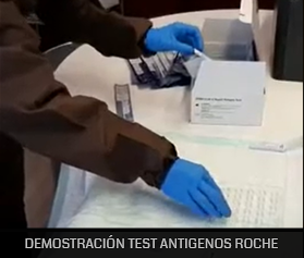 VIDEO DEMOSTRACIÓN TEST ANTÍGENOS ROCHE