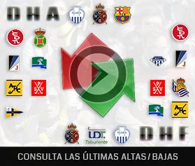 Altas/Bajas 2019-2020