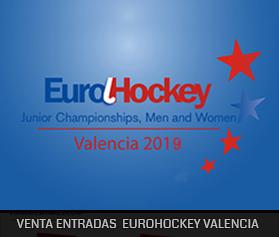 Venta de entradas EUROHOCKEY JUNIOR VALENCIA 2019