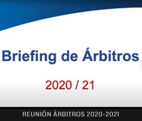 Reunión Árbitros Temporada 2020-2021