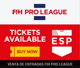 Venta de entradas FIH Pro League