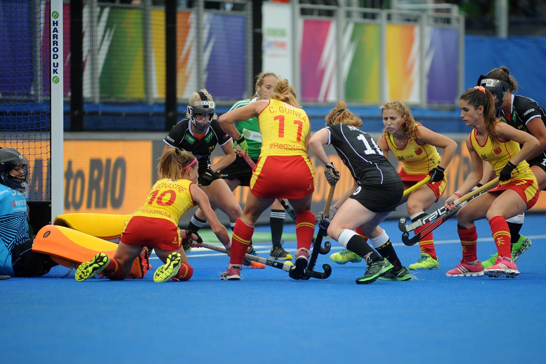 EuroHockey Londres 2015 - Semifinal Spain Vs Alemania - Selección Española Absoluta de Hockey Hierba