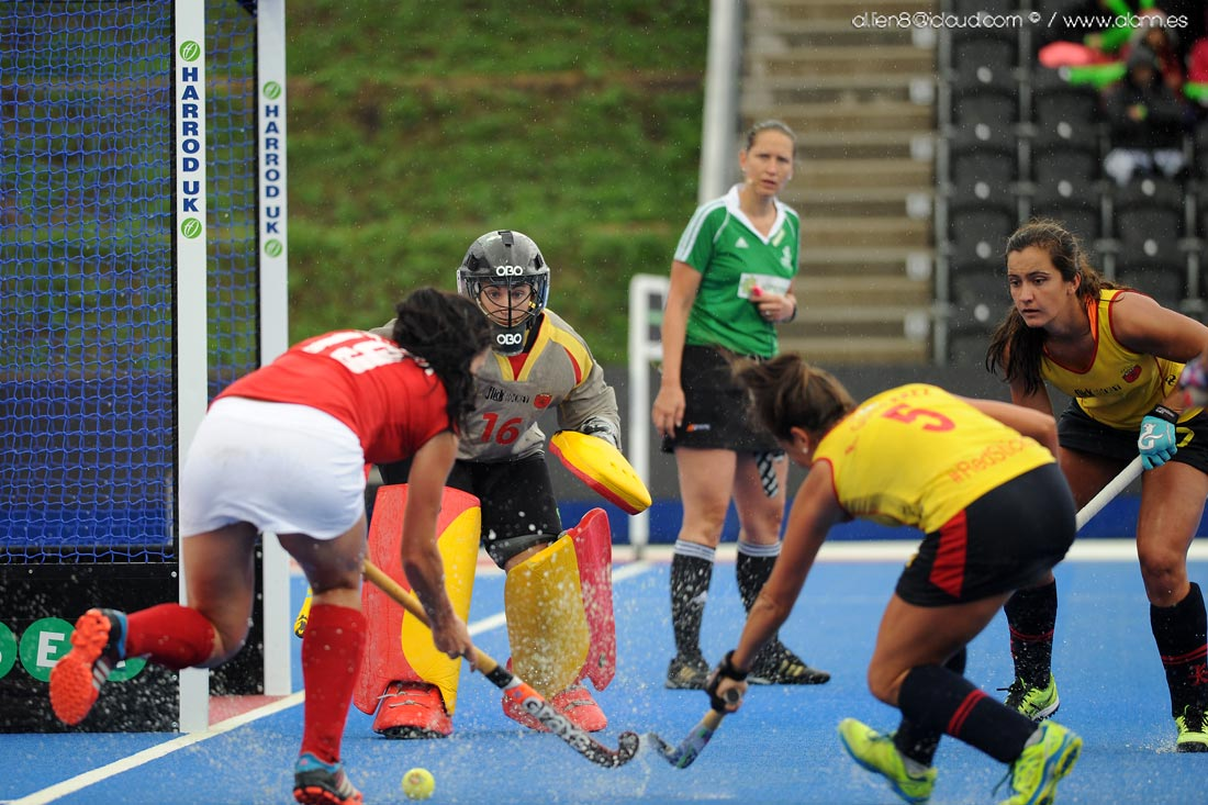 EuroHockey Londres 2015 - Spain Vs Polonia - Selección Española Absoluta de Hockey Hierba