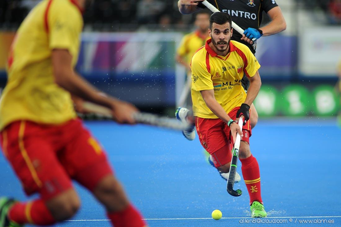 EuroHockey Londres 2015 - Spain Vs Bélgica - Selección Española Absoluta de Hockey Hierba
