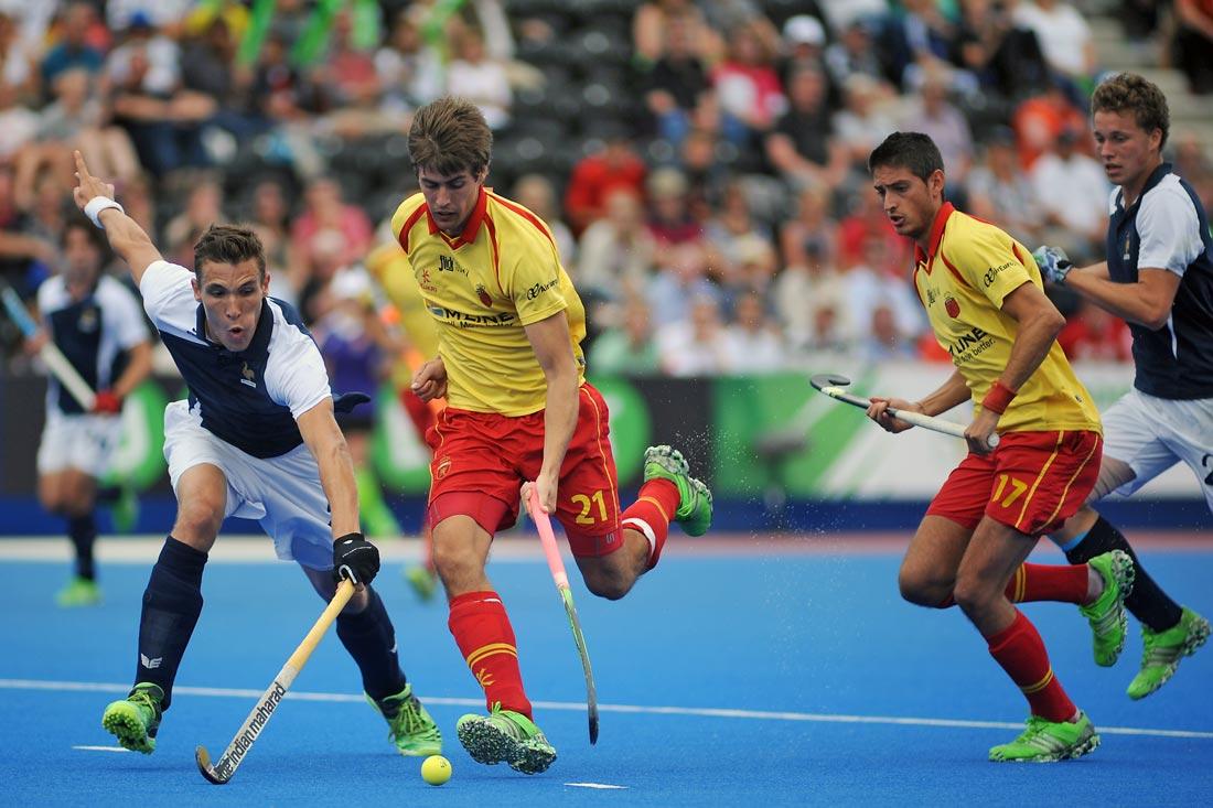 EuroHockey Londres 2015 - Spain Vs Francia - Selección Española Absoluta de Hockey Hierba