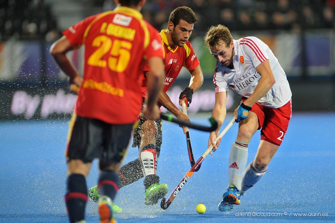 EuroHockey Londres 2015 - Spain Vs Inglaterra - Selección Española Absoluta de Hockey Hierba