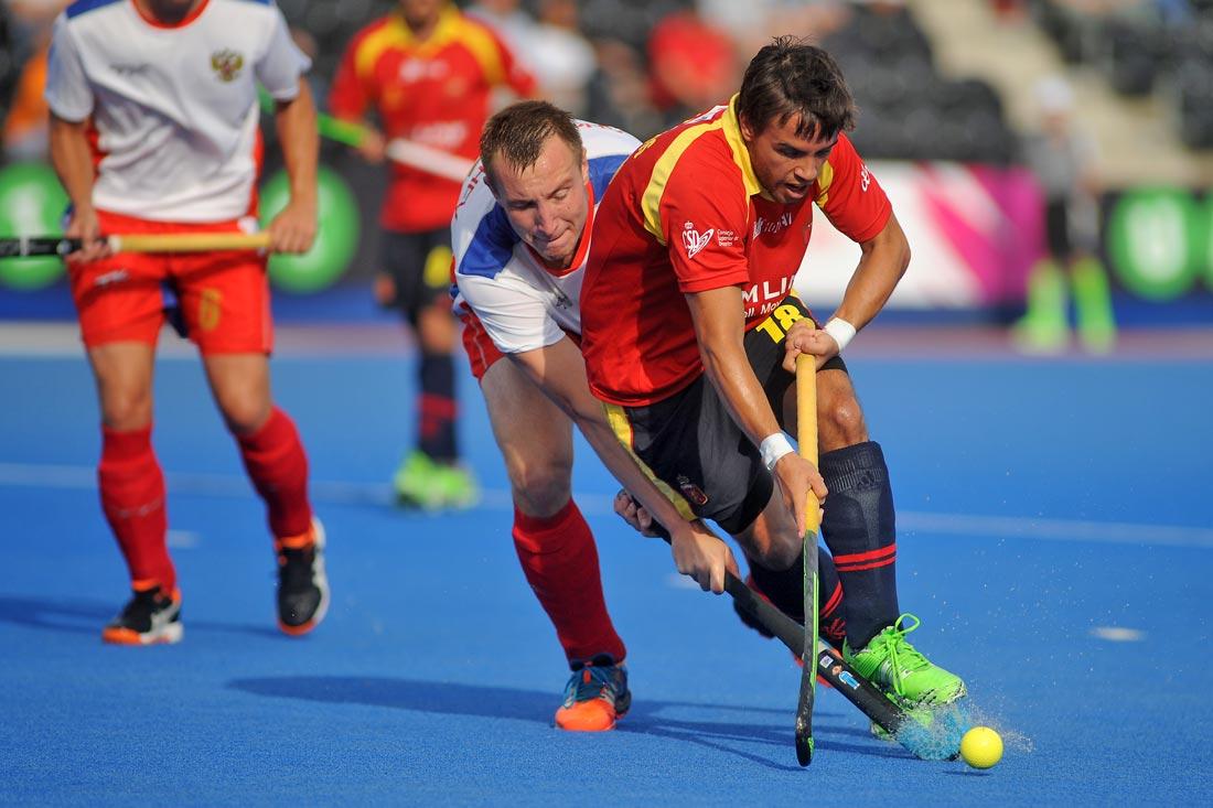 EuroHockey Londres 2015 - Spain Vs Russia - Selección Española Absoluta de Hockey Hierba